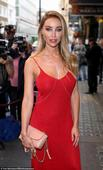 Ex-TOWIE star Lauren Pope sizzles at Impossible gala performance in slinky scarlet number