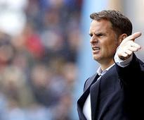Premier League: Crystal Palace sack manager Frank de Boer after dismal start to season