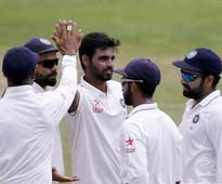 Playing a Test after so long made me nervous: Bhuvi