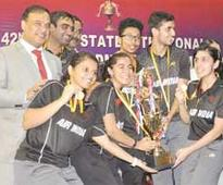 Air India lift badminton title