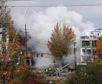 Portland gas explosion: Firefighter tossed up to 20 feet, hailed as a hero