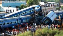 UP train accident: 4 railway officials suspended