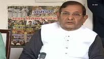 Sharad Yadav moves HC against his disqualification from Rajya Sabha