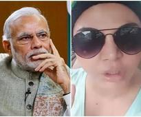 WATCH: This hot actress salutes PM Narendra Modi for conducting surgical strike