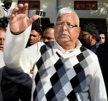 Lalu's fate in 3rd fodder scam to be decided on Jan 24