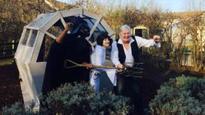Darth raiders: Star Wars shed vandalised