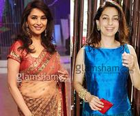 Madhuri Dixit takes on Juhi Chawla's gundas!