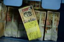 Rupee closes 50 paise down at 3-month low of 60.56 per dollar