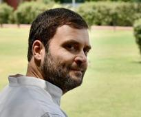 With eye on 2019, Rahul Gandhi appropriates Modi's tagline, says acche din will return with Congress
