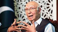 Pakistan: Sartaj Aziz appointed deputy chairman of planning commission