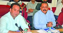 Dr Jitendra Singh reviews development projects in Jammu