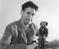 George Orwell and the 21st Century pub