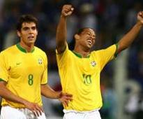 Brazil to Confederation Cup without Kaka and Ronaldinho