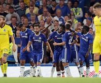 League Cup: Liverpool thrash Burton Albion 5-0; Chelsea squeak past Bristol Rovers 3-2