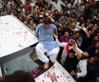PTI conveys security concerns to chief secretary