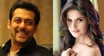 Zareen Khan credits her career in Bollywood to Salman Khan
