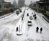 Jammu-Srinagar highway closed after snowfall, landslides