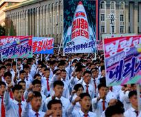 Thousands of Pyongyang residents gather in North Korea capital to laud Kim Jung