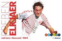 Euro Cult Heroes: Preben Elkjaer, Denmark's 'crazy man from Lokeren' of Euro 84