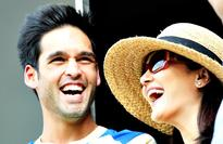 Cute IPL PICS: Preity Zinta and Siddharth Mallya