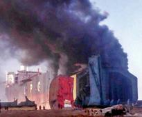 Same place, another blaze: NTUF lambastes govt, ship-breakers over fire