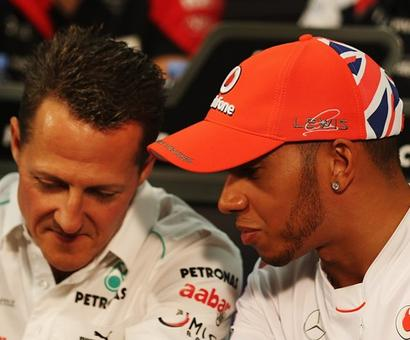 Sports Shorts: Hamilton not chasing Schumacher's F1 title record