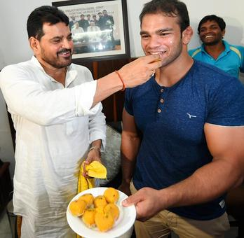 World wrestling body clears Narsingh for Rio