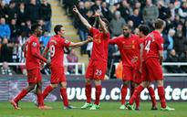 EPL: Liverpool hit Newcastle United for six