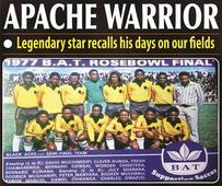 Apache Warrior…Legendary star recalls his days on our fields
