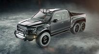 Hennessey VelociRaptor 6×6, look out Mercedes