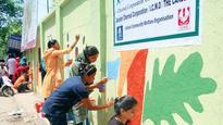 Crematorium Walls Get Colourful Social Messages