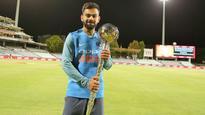 Watch: Virat Kohli receives ICC Test Championship Mace, sends special message to fans
