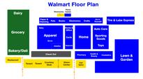 A Map of How Wal-Mart Lays Out Its Stores to Lift Sales