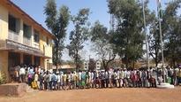 Maharashtra: Tribals conduct 'Queue Satyagraha', protest for their land