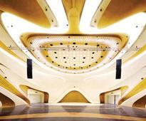 GD-lighting design illuminate zaha hadid's nanjing international youth cultural centre in china