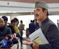 Ghulam Nabi Azad says Cong-SP alliance will continue for 2019 Lok Sabha polls