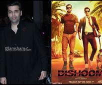Karan Johar smitten by DISHOOM boys John Abraham and Varun Dhawan's swag! - News