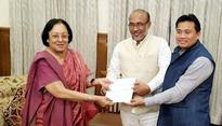 Manipur: Governor Najma Heptulla invites BJP to form coalition government, Biren Singh's swearing-in today