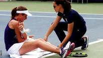 US Open 2016: Johanna Konta beats Tsvetana Pironkova after collapsing on court