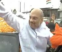 Amit Shah meets party leaders in Jammu