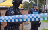 Man charged in Victoria terror raids