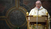 Pope Francis calls global leaders to end cult of money