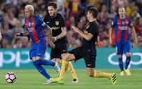 Barca held to 1-1 draw by stubborn Atletico