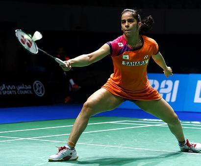 Saina hospitalised to treat injured knee