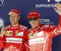 Hungarian Grand Prix: Sebastian Vettel takes pole, Kimi Raikkonen finishes 2nd to seal Ferrari front-row lockout