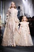 Elie Saab's Fall 2016 Haute Couture mini models