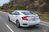 2016 Honda Civic Coupe recalled to fix taillights