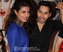 Varun Dhawan's apt reply on Priyanka's 'legs' controversy