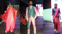 TEXTILE LOOKS THAT RULED THE RAMP AT INDIA RUNWAY WEEK WINTER FESTIVE 2016