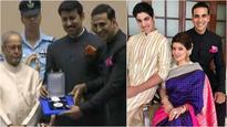 National Film Awards: Akshay Kumar receives 'Best Actor' award for 'Rustom' from the President